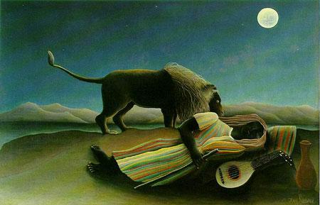 Rousseau-sleeping gypsi