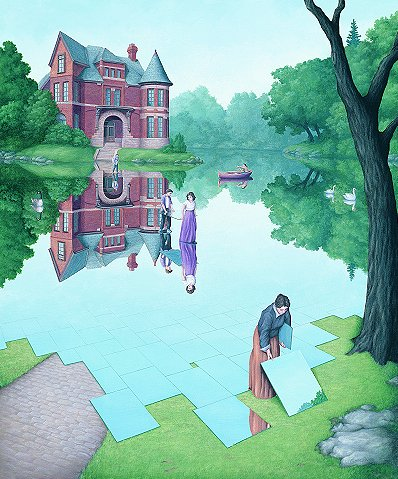 rob gonsalves lines and colors