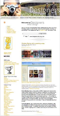 Designers who blog