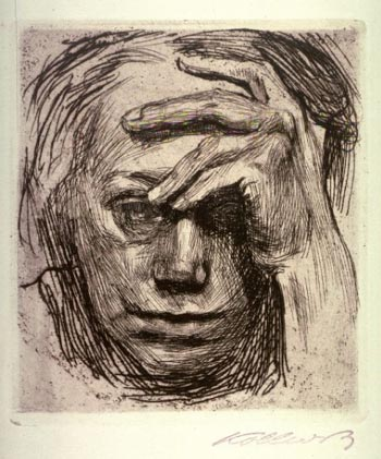 Kollwitz drawing