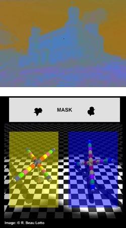 Big Spanish Castle  and  e-Chalk color perception