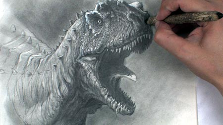 Drawing Dinosaurs with David Krentz