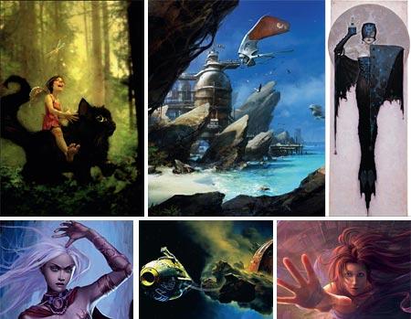 ImagineFX: Linda Bergkvist, Thierry Doizon, Brom, Linda Tso, Chris Foss, Gary Tonge