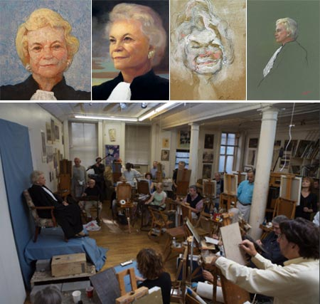 The Painting Group - Portraits of Sandra Day O'Connor