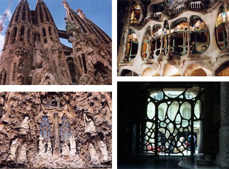 Antoni Gaudi The Art Nouveau style that flourished around the turn of the