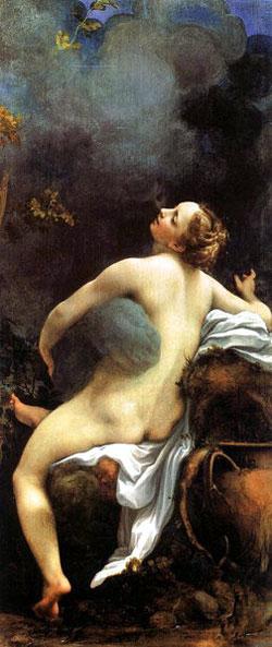 Correggio (Antonio di Pellegrino Allegri), Jupiter and Io