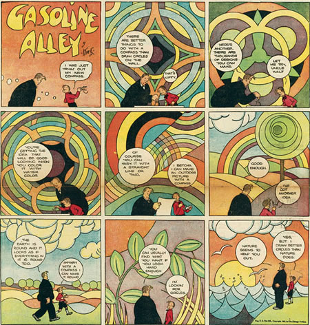 Sundays with Walt and Skeezix - Gasoline alley by Frank King