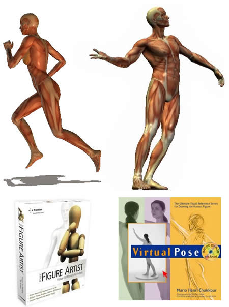 Poser Figure Artist, Pose Maniacs, Virtual Pose