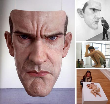 ron mueck lines and colors