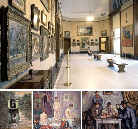 The Barnes Foundation - Monet, Seurat, Cezanne