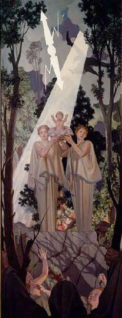 R. H. Ives Gammell - Hound of Heaven