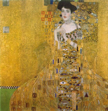 Guatav Klimt - Portrait of Adele Bloch-Bauer