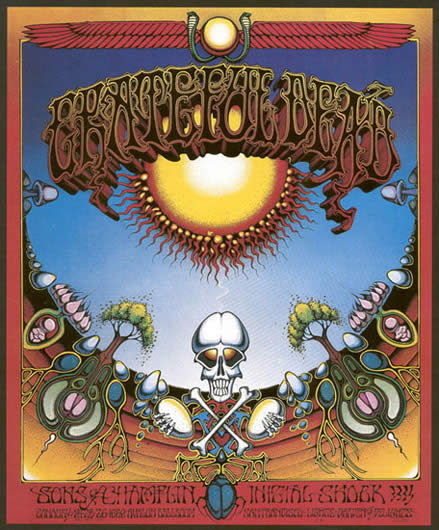 Rick Griffin - Grateful Dead poster