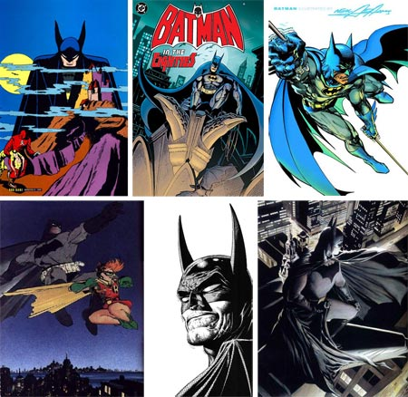 Many Faces of Batman