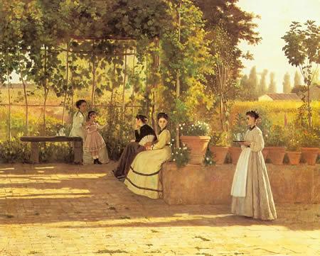The Macchiaioli - SIlvestro Lega