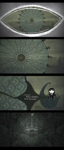 Closing titles - Lemony Snicket's A Series of Unfortunate Events - from Forget the film, watch the titles