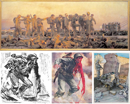 Art of War: Eyewitness U.S. Combat Art From the Revolution through the Twentieth Century, John Singer Sargent, Tom Lea, Michael Fay