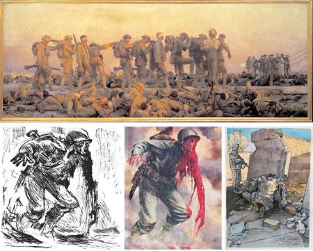 Art of War: Eyewitness U.S. Combat Art From the Revolution through the Twentieth Century, John Singer Sargent, Tom Lea, Michael Fay