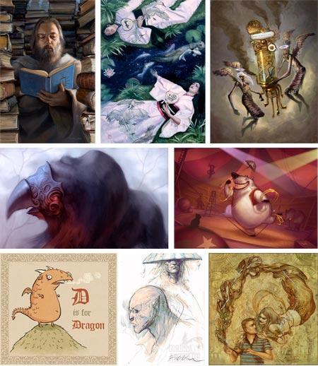 Gorilla Artfare: Dave Palumbo, Tiffany Prothero, Brun Croes, Adam Paquette, Patri Balanovsky, Victoria Maderna, Simon Fellah, Alice Duk