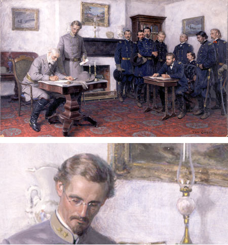 Tom Lovell - Surrender at Appomaomattox