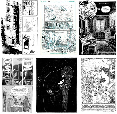 LitGraphic: The World of the Graphic Novel at the Norman Rockwell Museum - Will Eisner, Robert Crumb, Frans Masareel, Frank Miller, Art Spigelman, Steve Ditko, Harvey Kurtzman, Dave Sim, Terry Moore, Lynd Ward, Peter Kuper