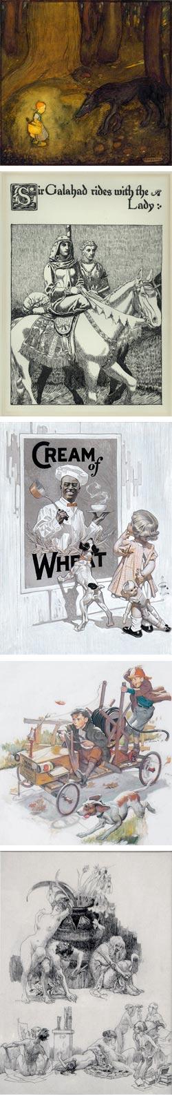 Walt Reed's Illustration House:  Gustaf Tenggren, Howard Pyle, J.C. Leyendecker, Harry Anderson, Heinrich Kley