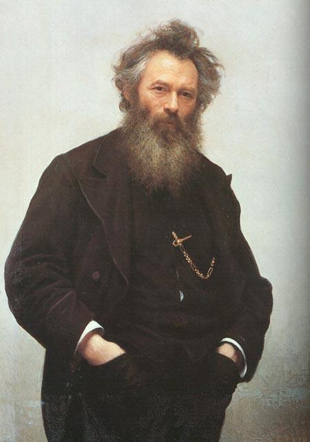 Ivan Nikolaevich Kramskoy - Portrait of Ivan Shishkin