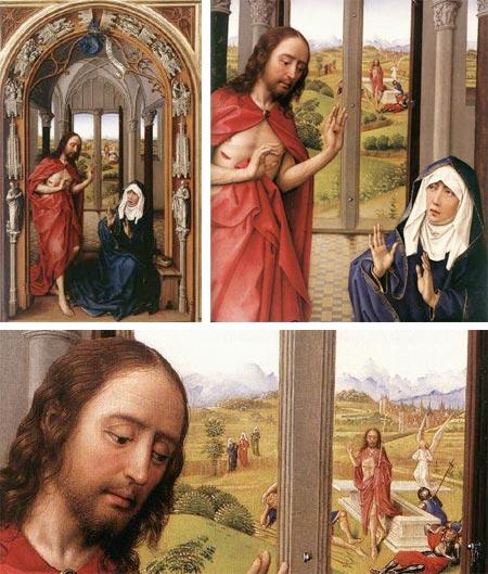 Rogier ven der Wyden's Miraflores Altarpiece
