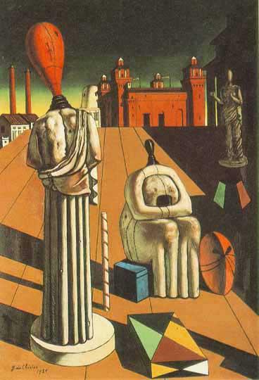 Giorgio de Chirico - The Disquieting Muses