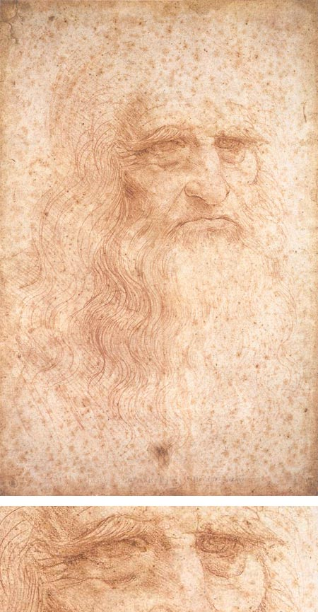 Leonardo da Vinci - presumed self-portrait