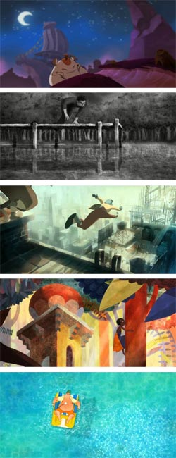 Gobelins Students Animations at Annecy Animated Film Festival