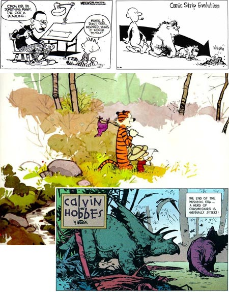 Bill Watterson - Calvin and Hobbes