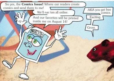 Philadelphia City Paper Comic Competition