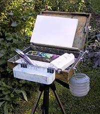 Paint box conversion to pochade boxx