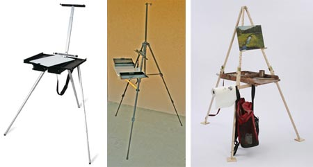 Soltek, SunEden and Take-it-Easel portable easels