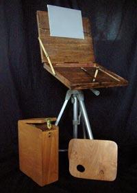 Artist Easel Plans pochade box