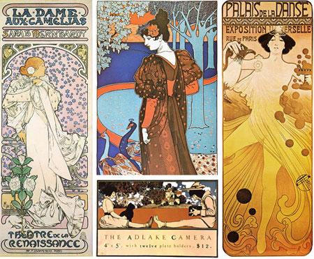 Art of the Poster 1880-1918 - Art Nouveau posters and others