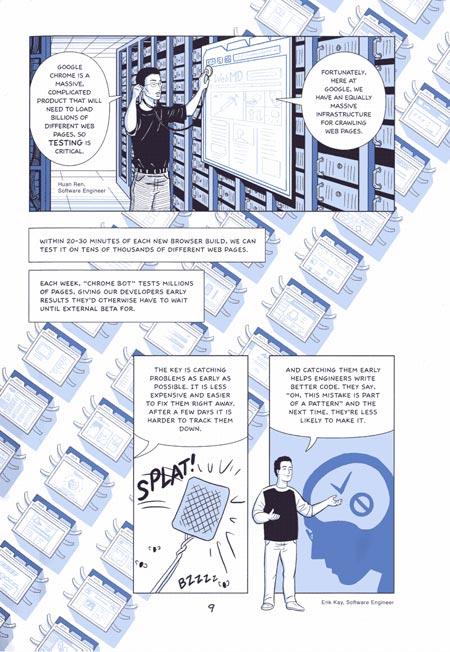 Scott McCloud's Info-comic for Google Chrome