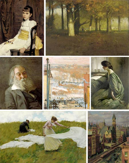 Pennsylvania Academy of the Fine Arts - Cecilia Beaux, George Inness, Thomas Eakins, Childe Hassam, John White Alexander, Charles Courtney Curran, John Sloan