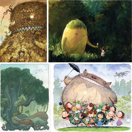 Totoro Forest Project - Katsuya Terada, Jackson Sze, Charles Vess, Hermann Meija