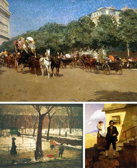 Double Lives: American Painters as Illustrators at the Brandywine River Museum, Childe Hassam, William Glackens, N.C. Wyeth