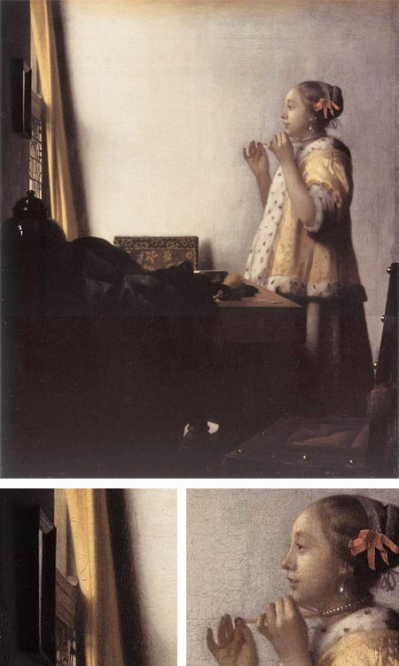 Vermeer - Woman With a Pearl Necklace