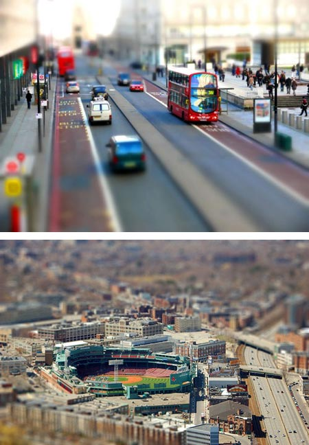 Tilt-Shift Photography -