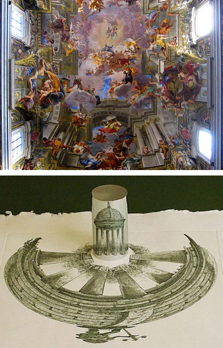 Anamorphic Art - Andrea Pozzo, Istvan Orosz