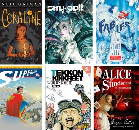 2008 Best Graphic Novel Lists