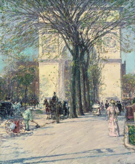 Childe Hassam - Washington Arch