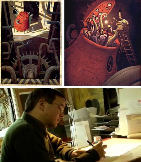 Shaun Tan talks about The Lost Thing animated short son InFrame.tv