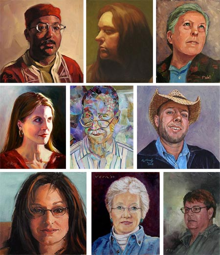 Different Strokes from Different Folks Portrait Swap
