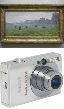 Monet, Green Park, London; Canon SD770IS Digital Elph