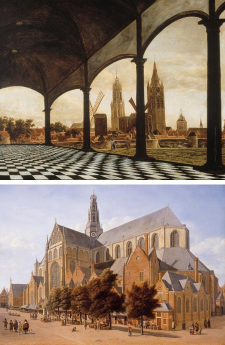 Pride of Place: Dutch Cityscapes of the Golden Age, Daniel Vosmaer, Adriaensz Berckheyde